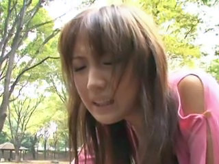 Asian Dildo Japanese Orgasm Outdoor Teen