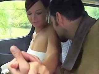 Adorable Allison fucked in the van