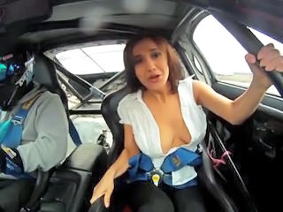 Big Tits Car Erotic