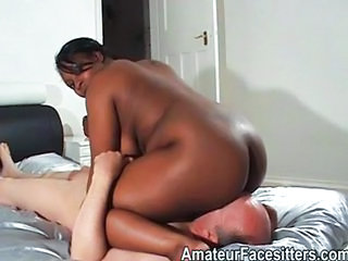 Ass Ebony Facesitting Femdom Interracial