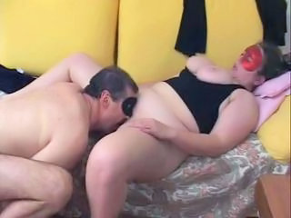 Amateur Older Old and Young Strapon