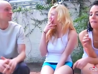 Fetish Outdoor Smoking Teen