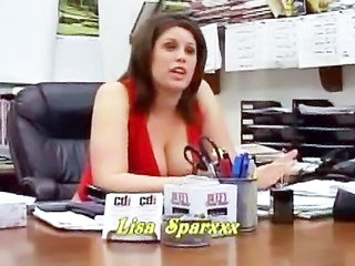 Chubby MILF Natural Office Secretary