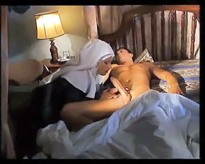 Blowjob European Italian Nun Uniform