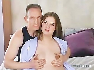 European Pregnant Teen Young