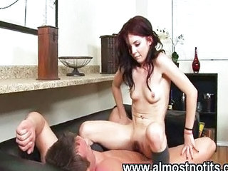Riding Small Tits Teen