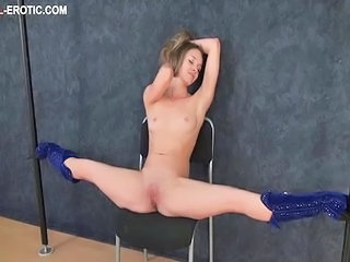 Flexible Shaved Teen