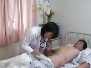 Asian Doctor Handjob Japanese Uniform