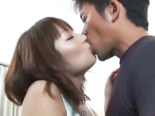 Asian Hairy Japanese Kissing