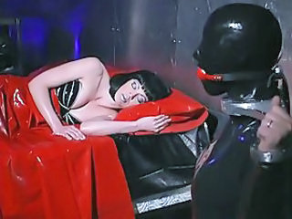 Fetish Latex Sleeping