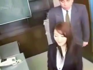 Asian Japanese MILF Teacher