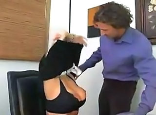 Big Tits MILF Office