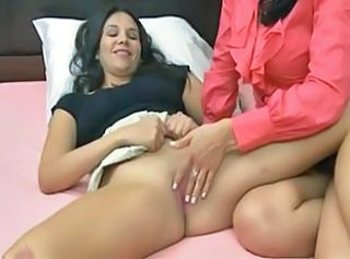 Lesbian Old and Young Shaved Teen