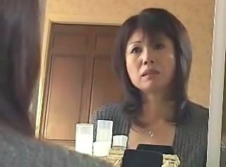 Japanese Mom Strapon