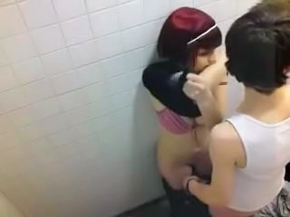 Amateur Bathroom Girlfriend