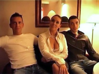 European French MILF Threesome