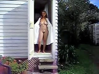 Amateur Outdoor Wife