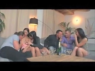 Drunk Groupsex MILF Orgy Swingers