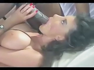 Big cock Blowjob Cumshot Interracial MILF Pornstar Swallow Vintage