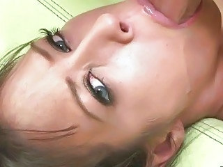 Big Tits Blowjob Brunette Facial Deepthroat
