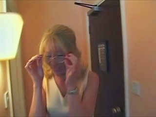 Amateur British European Glasses MILF