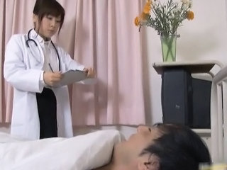 Asian Doctor Japanese MILF Uniform