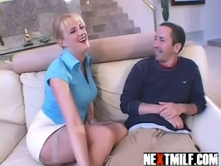 Legs MILF Stockings Wife