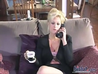 Blonde MILF Secretary