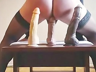Amateur Dildo Masturbating Toy