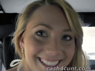 Amateur Cash Car Teen