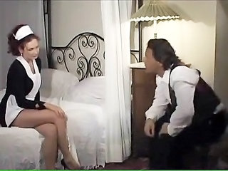 European Italian Maid MILF Uniform Vintage