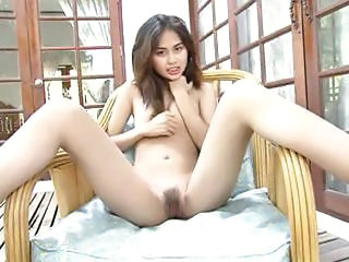 Asian Babe Cute Outdoor Small Tits Teen