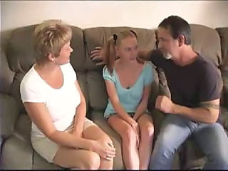 Babysitter Mature Mom Old and Young Teen Threesome
