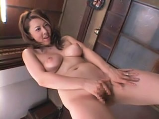 Asian Japanese Masturbating MILF