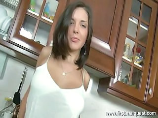 Anal Kitchen Teen