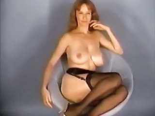 Big Tits MILF Natural Stockings Vintage