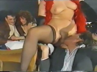 German Hairy Licking MILF Public Stockings Vintage