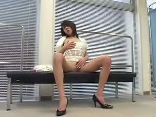 Asian Masturbating MILF Teacher