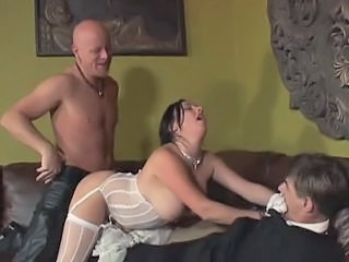 Bride Cuckold Doggystyle Hardcore Lingerie MILF Stockings