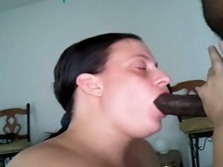 Amateur Big cock Blowjob Deepthroat Homemade Interracial Wife