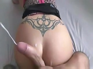 Ass Big cock Cumshot Pov Tattoo