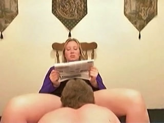 Licking MILF Wife