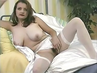 Bride Bus Hairy Natural Stockings Uniform