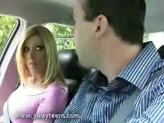 Blonde Car Teen