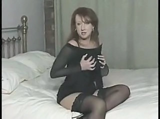 British European MILF Solo Stockings Vintage