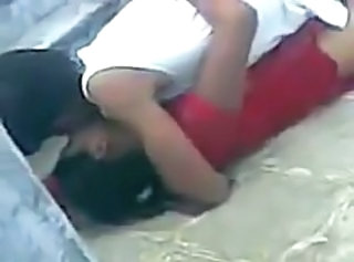 Indian college girl secretly recorded while fucked on campus _: hiddencam
