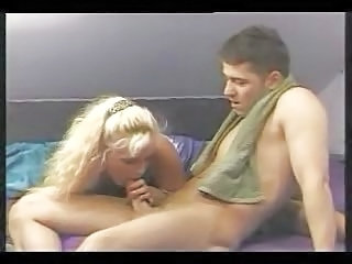 Blonde Blowjob European German MILF