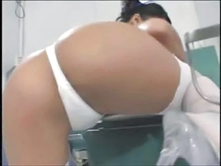 Amazing Asian Ass Nurse Panty