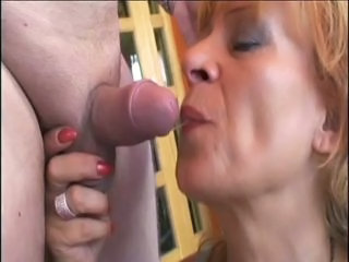 Blowjob Mature Small cock