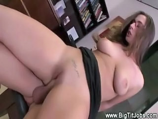 Hardcore MILF Office Riding SaggyTits Secretary Shaved